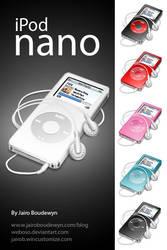 Ipod Nano Icons by weboso