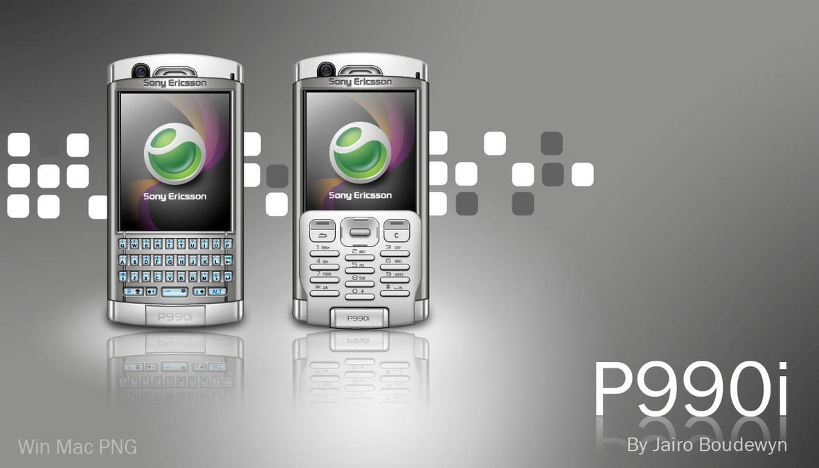 Sony Ericsson P990i Icons by weboso