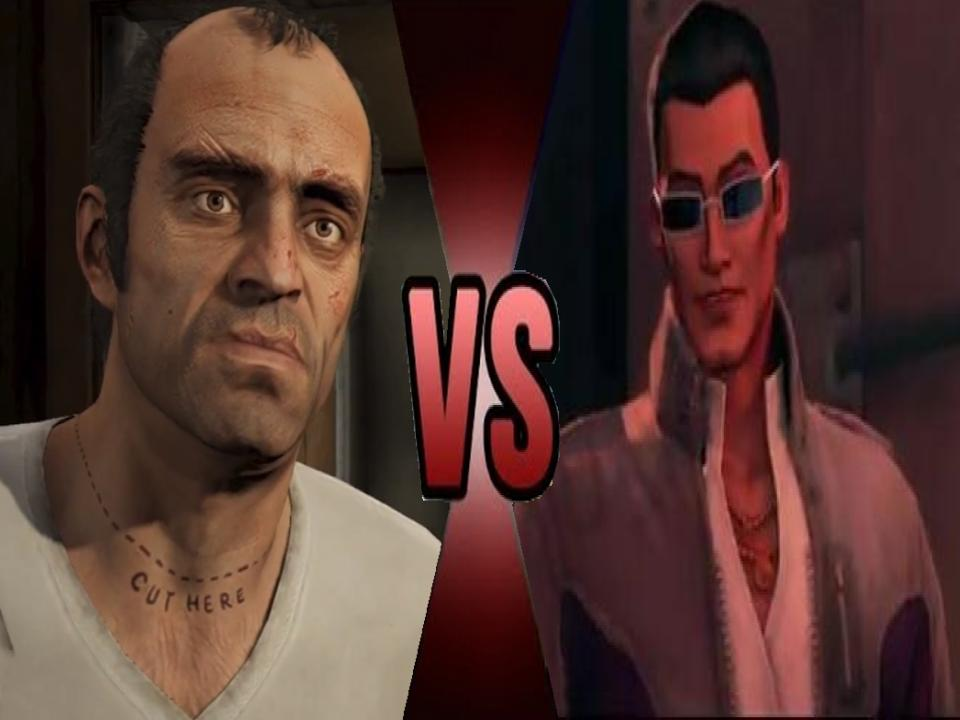 Dwoah Trevor Phillips Vs Johnny Gat By Garchompisbeast On Deviantart