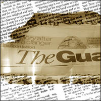 Brush Set - Newspaper Articles by decaydmatter