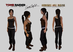 Lara Croft - Clean Concept Art Outfit Download
