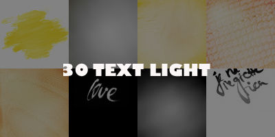 [TEXTURES] Light Text 2