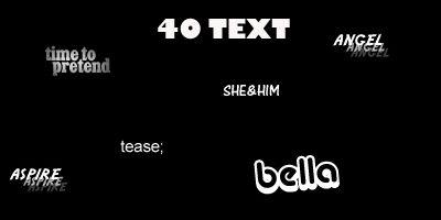[TEXTURES] Text