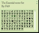 The Essential vector Set