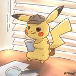 Coffee+Pikachu