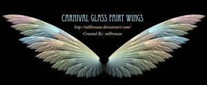 Carnival Glass Fairy Wings - Fractal