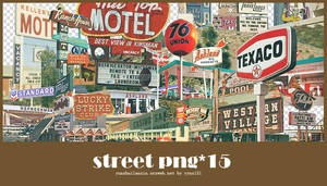 Street png pack #01