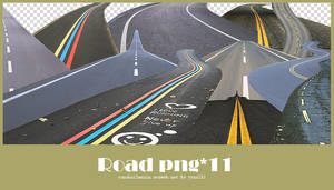 Road png pack #01
