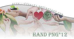 Hand png pack #01