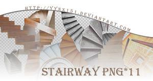 Stairway png pack #01