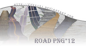 Road png pack #02 by yynx151