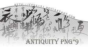 Antiquity png pack #03