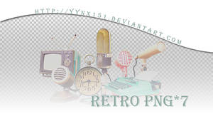 Retro png pack #04
