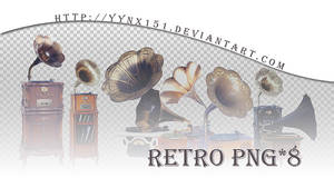 Retro png pack #06