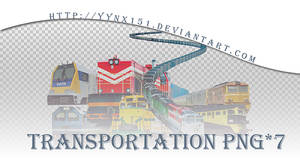 Transportation png pack #02 by yynx151