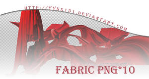 Fabric png pack #02