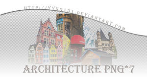 Architecture png pack #03 by yynx151