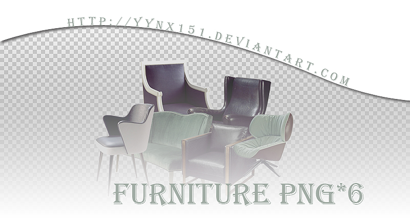 Furniture png pack #01 by yynx151