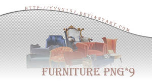 Furniture png pack #02