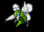 Shiny Beedrill - Animated