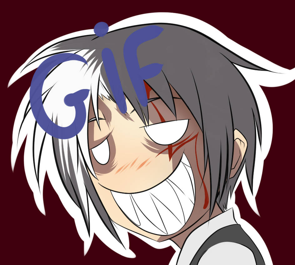 Allen scary face gif by gray wolfy