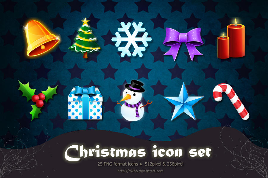 Christmas Icon Set by MKho