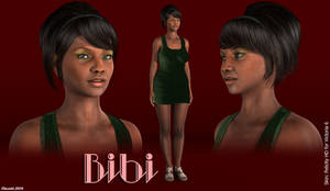 Freebie: Bibi  (Genesis2Female shape)