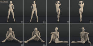 Freebie: ED's Bends (Poses for G2F/V6)