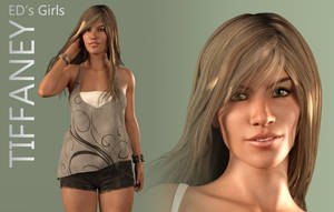 Freebie: ED's Girls Tiffaney (G3F) by Edheldil3D