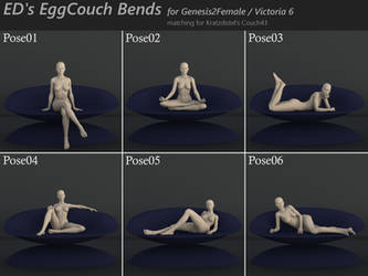 Freebie: ED's EggCouch Bends by Edheldil3D