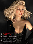 Freebie: ED's Girls Michelle (G3F shape)