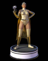 Captn.Cathy Animation (with FX) by Edheldil3D