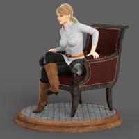 Doro Chair Turntable by Edheldil3D