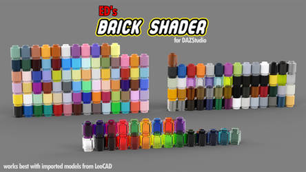 Freebie: ED's Brick Shader (Iray)