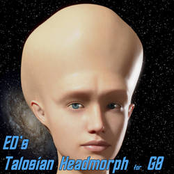 Freebie: ED's Talosian Headmorph for G8 (m/f)
