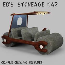 Freebie: ED's Stoneage Car