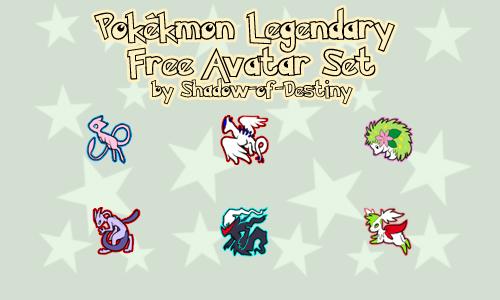 Legendary Free Avatar Set III by Shadow-of-Destiny