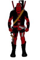 DeadPool Redesign by Chiracy