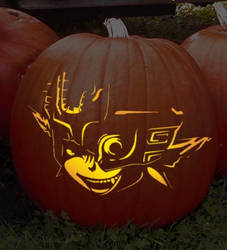Midna Pumpkin Pattern Download by snowtato