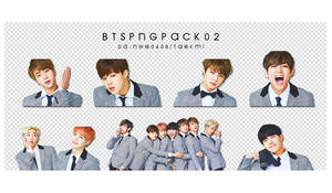 02 / BTS PNG PACK 02