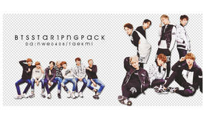 11 / BTS STAR1 PNG PACK