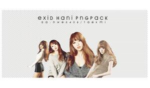 34 / EXID Hani PNG PACK