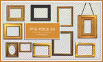 Picture Frame PNG PACK 04