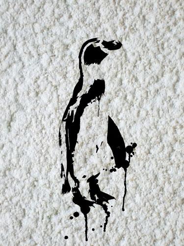 Penguin stencil tutorial files