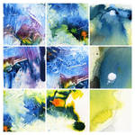 Abstract painting texture pack