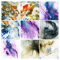 Abstract painting texture pack 2