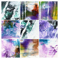 Abstract painting texture pack 3