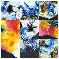 Abstract painting texture pack 4