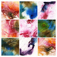 Abstract painting texture pack 5