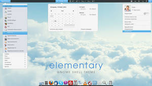 elementary gnome shell theme by Golan77